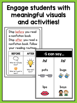 Shared Reading Lessons for Reading Workshop: Kindergarten Unit 5