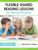 Shared Reading Lessons for Reading Workshop: Kindergarten Unit 5