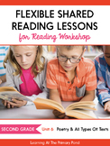 Shared Reading Lessons for Reading Workshop: Second Grade Unit 6