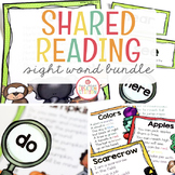 Shared Reading Mega-Bundle (Sight Word Poems)