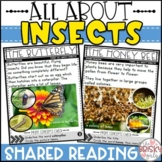 Insects Shared Reading Passages (Take Home Packet) Distanc