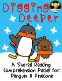 Shared Reading {Penguin and Pinecone}
