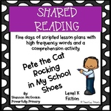 Shared Reading Lesson Plan | Pete the Cat Rocking in my Sh