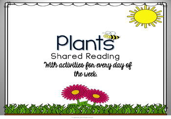 Shared Reading: Plants