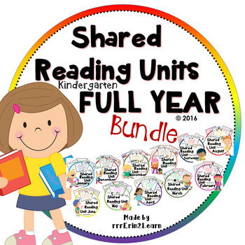Poems All Year Shared Reading Kindergarten