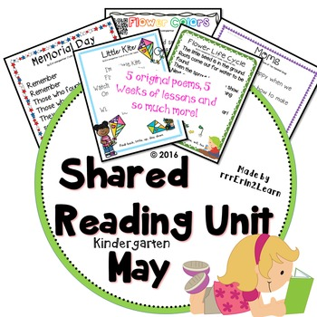 Shared Reading Poems Kindergarten May