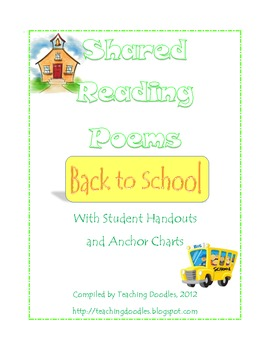 Shared Reading Poems - School