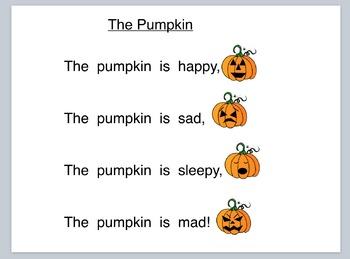 12 Original Shared Reading Poems for Kindergarten - Whole Group Version PDF