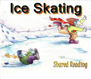 Shared Reading Poetry: Ice Skating(SMARTboard, Gr 1-2)