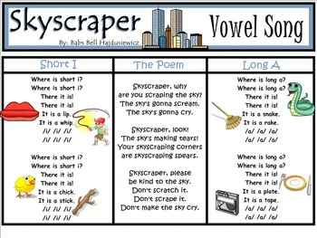 Shared Reading Poetry: Skyscraper (SMARTboard, Gr 1-2)