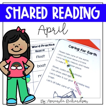 Shared Reading Poetry for April