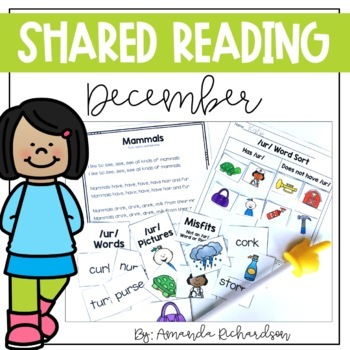 Shared Reading Poetry for December