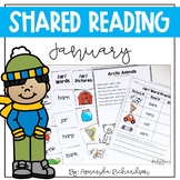 Print & Digital Shared Reading Poetry for January
