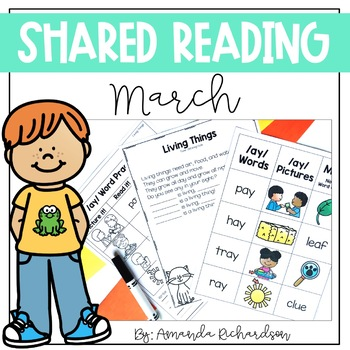 Shared Reading Poetry for March
