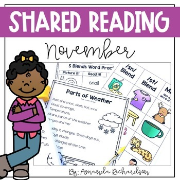 Shared Reading Poetry for November