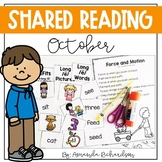 Shared Reading Poetry for October