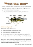Shared Reading Resources - Meet the Bugs