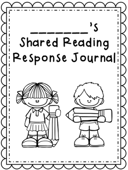 Shared Reading Response Journals