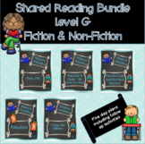 Shared Reading Scripted Lesson Plan Bundle - Level G