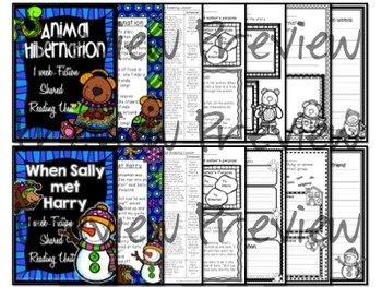 Shared Reading: Shared Reading Plans- Winter Bundle- Common Core Aligned