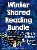 Shared Reading: Shared Reading Plans- Winter Bundle- Commo
