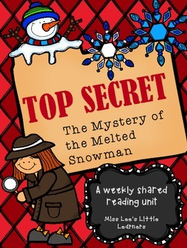 Shared Reading: The Mystery of the Melted Snowman (fiction)