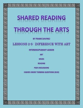 Shared Reading Through the Arts Lessons 2-5