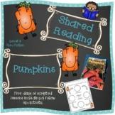 Shared Reading Week plan for PUMPKINS - Level G