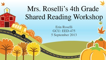Shared Reading Workshop