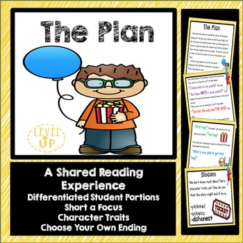 Shared Reading for Phonics and Comprehension (short a & ch