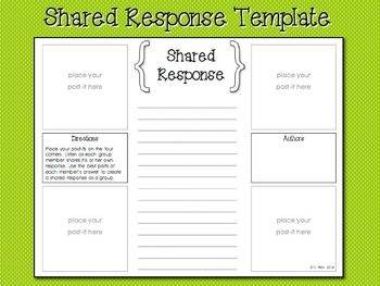 Shared Response Template