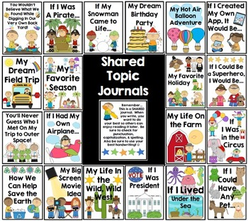 Shared Topic Journals