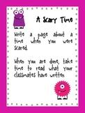 Shared Writing Journal Topics