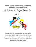 Shared Writing Prompts