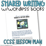 Shared Writing Lesson Plan