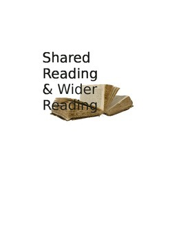 Shared and Wider Reading