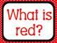 Shared or Guided Reading Books about Colors