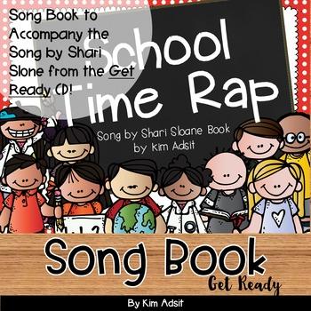 Shari Sloane School Time Rap Fun Music Book