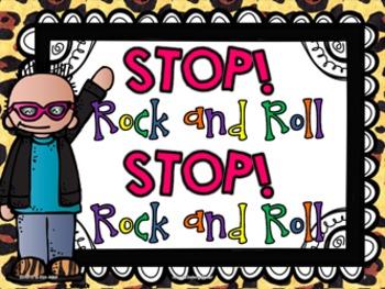 Shari Sloane Stop Rock and Roll Fun Music Book