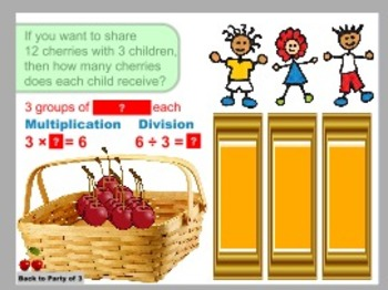 Sharing Cherries Operations and Algebraic Thinking: Multiplication and Division