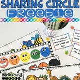 FREEBIE Sharing Circle Activities