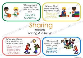 Sharing Classroom Poster