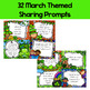 Sharing & Discussion Morning Meeting Cards- March