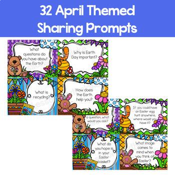 Sharing & Discussion Morning Meeting Digital Slides- April