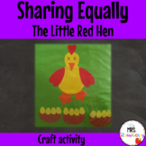 Sharing Eggs Activity {Little Red Hen} Sharing Equally