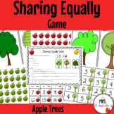 Sharing Equally Game {Apple Trees}