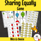 Sharing Equally Game {Mice and Cheese}