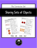 Sharing  Sets of Objects (3.3E, 3.G.2)