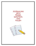 Sharing Journals with Praise, Question, Polish