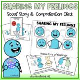 Sharing My Feelings- A Social Story (Social Skills in Elem